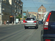 Трамвайные пути в Екатеринбурге закроют от автомобилистов