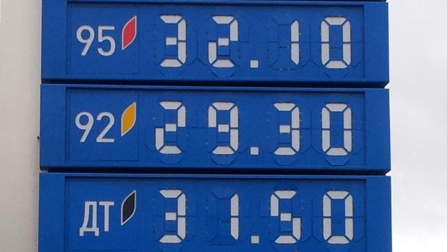Мониторинг 66.ru: солярка все дорожает и дорожает