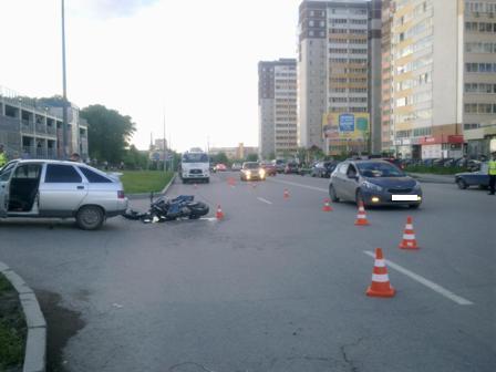 В аварии возле «Парк-Хауса» погиб мотоциклист