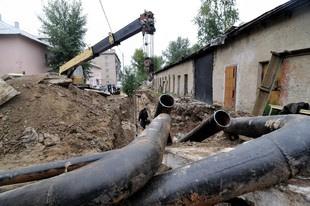 Мэрия оштрафовала СТК за выкопанную теплотрассу на ЖБИ