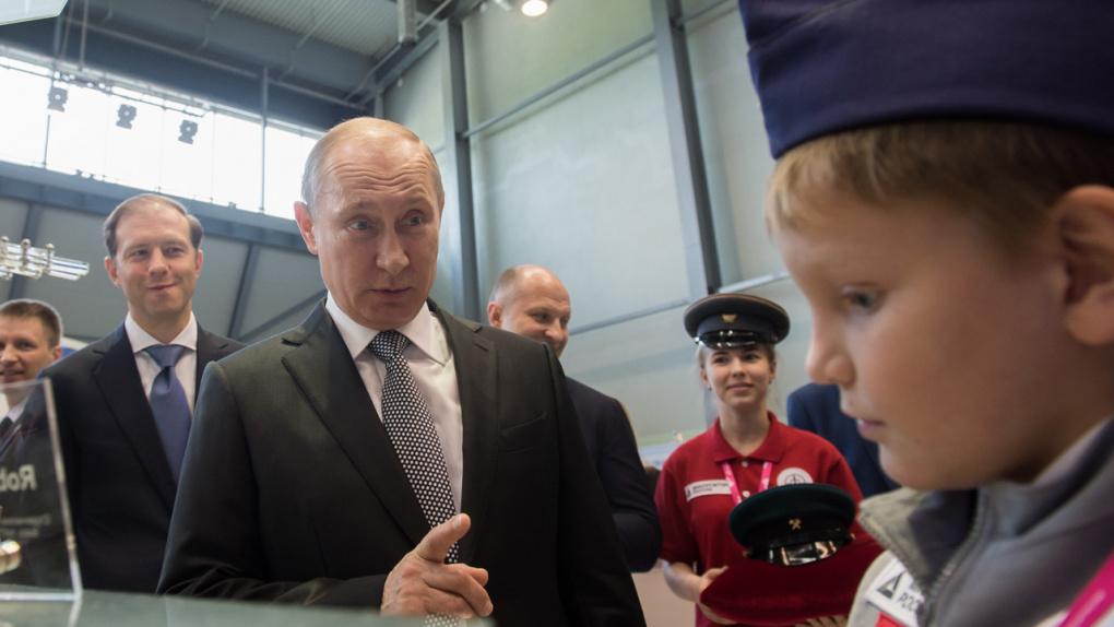 «Полуфейк ньюс». Песков прокомментировал «незадекларированный мотоцикл Путина»