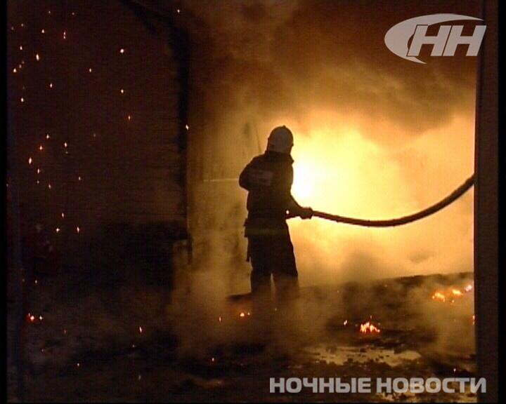 Рано утром на Громова полыхал частный дом