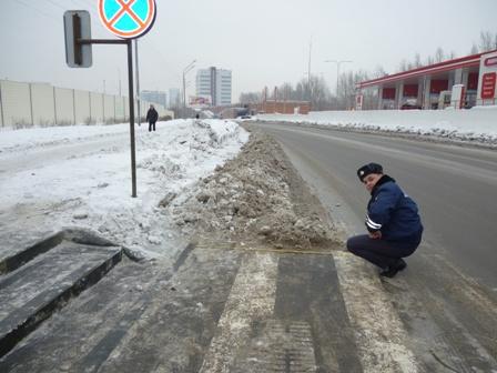 Главе Чкаловского района досталось от гаишников за плохие дороги