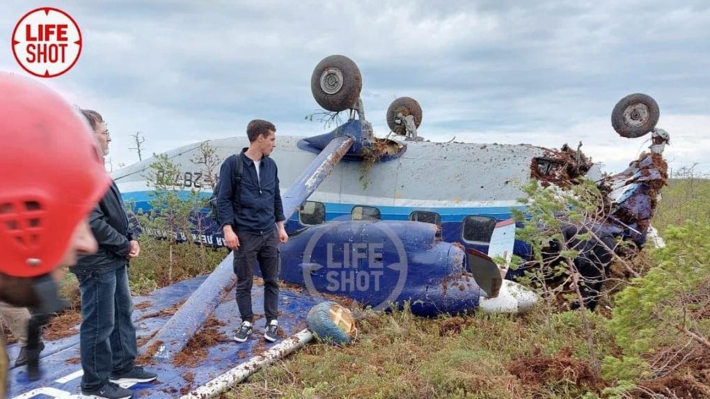 Спасатели нашли пассажирский самолет Ан-28, пропавший в Томской области. Все, что известно