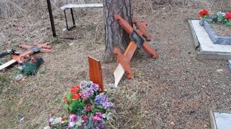 Полицейские поймали вандалов, разгромивших кладбища под Нижним Тагилом и Нижними Сергами