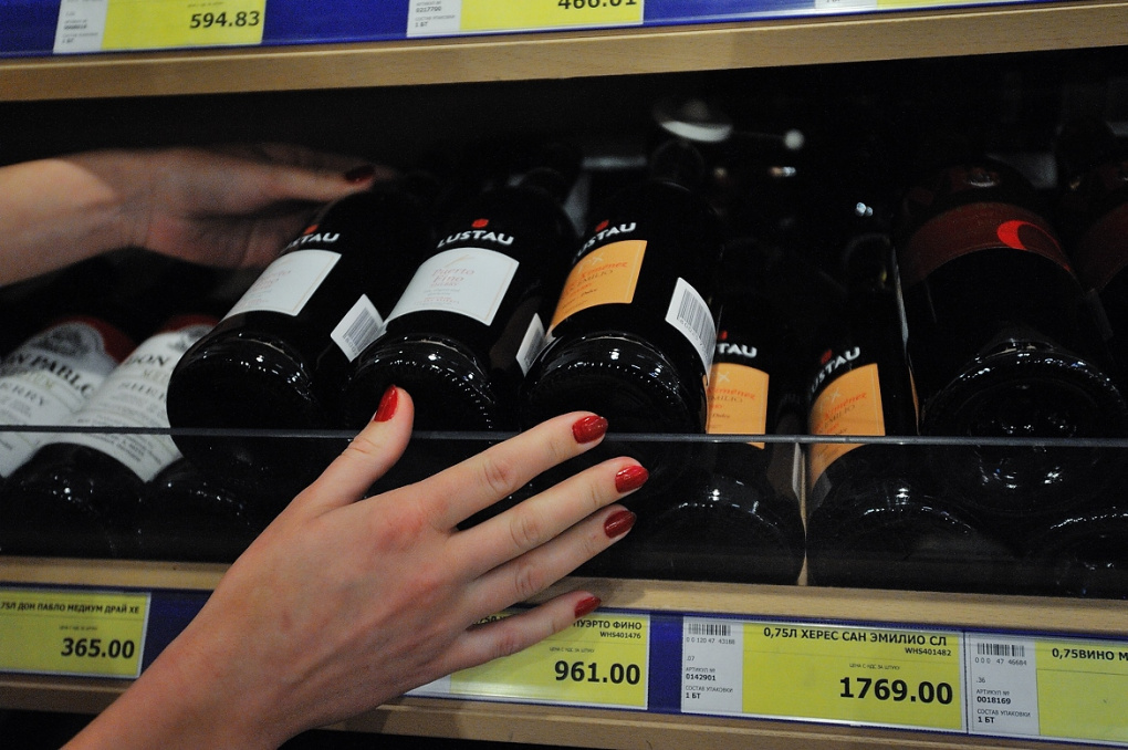 «Трезвая Россия» предложила продавать алкоголь в непрозрачных пакетах
