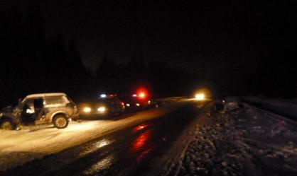 В ДТП на Серовском тракте пострадали три человека
