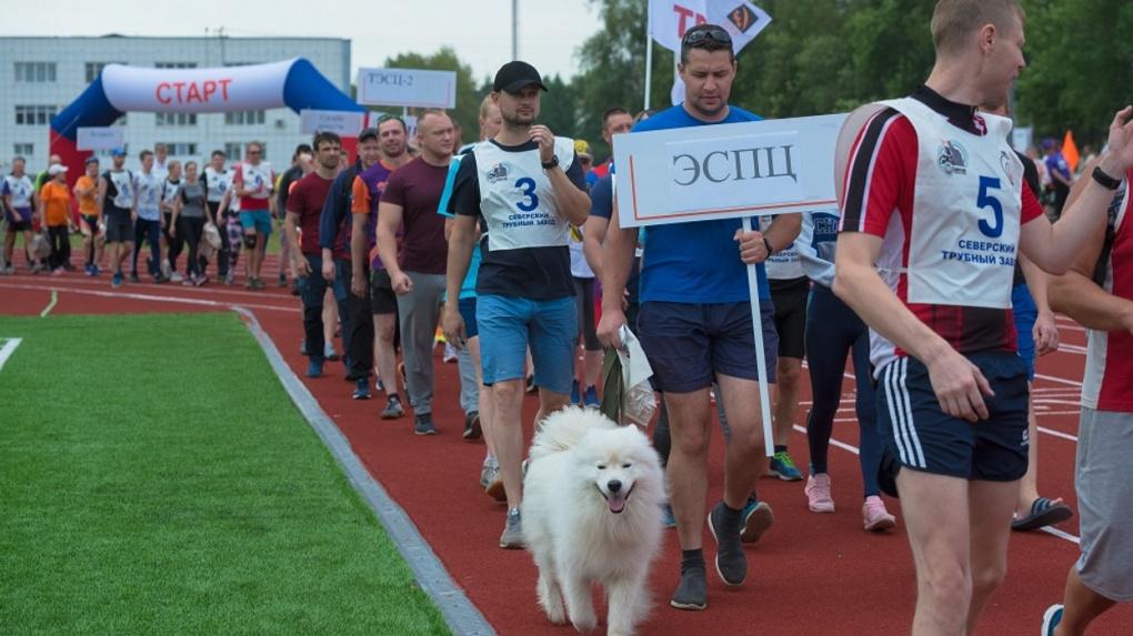 Эстафету благотворительного забега «Бежим с добром» поддержали в Полевском