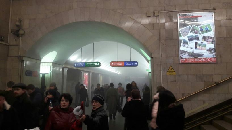 Взрыв впитерском метро: исламисты взяли насебя ответственность затеракт